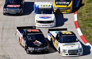 Austin Theriault, Ricky Benton Racing Enterprises, Ford F-150, BTS Tire & Wheel Distributors and Spencer Davis, Rette Jones Racing F-150 All Pro