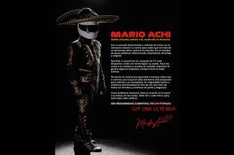 Mario Achi, GP de México