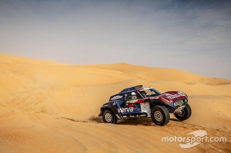 Kuba Przygonski, Timo Gottschalk, MINI John Cooper Works Buggy, Abu Dhabi Desert Challenge