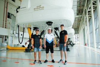 Cyril Raymond, GCK Academy, Oliver Bennett, Xite Racing, Guillaume De Ridder, GCK Academy,