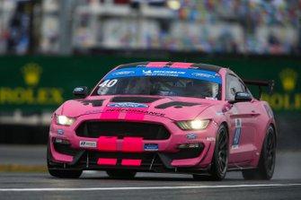 #40 PF Racing Ford Mustang GT4, GS: James Pesek, Jade Buford, Patrick Gallagher