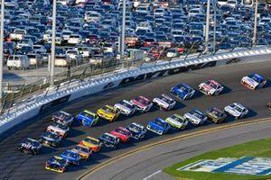 William Byron, Hendrick Motorsports, Chevrolet Camaro Axalta y Jimmie Johnson, Hendrick Motorsports, Chevrolet Camaro Ally