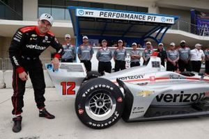 Pole Sitter Will Power, Team Penske Chevrolet