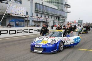 #69 Porsche 911 GT3 Cup: Kersten Jodexnis, Marco Schelp