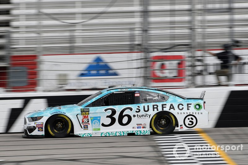 31. Matt Tifft, Front Row Motorsports, Ford Mustang Surface Sunscreen / Tunity