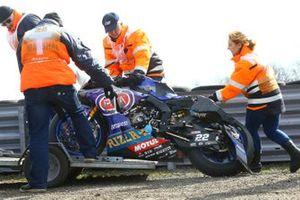 La moto di Alex Lowes, Pata Yamaha