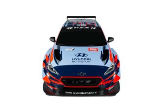 Hyundai BRC team launch