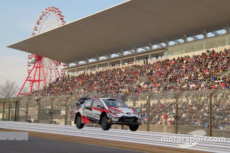 Tommi Makinen, Toyota Yaris WRC