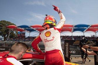 Polesitter Fabian Coulthard, DJR Team Penske
