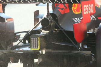Detalle del difusor del Red Bull Racing RB15