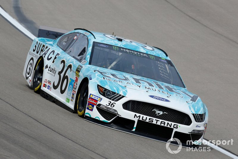 Matt Tifft, Front Row Motorsports, Ford Mustang Surface Sunscreen / Tunity