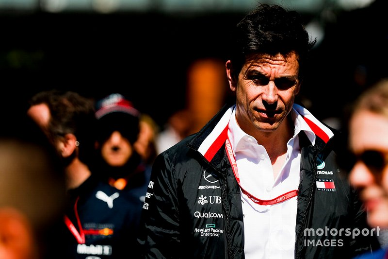 Toto Wolff, Mercedes AMG