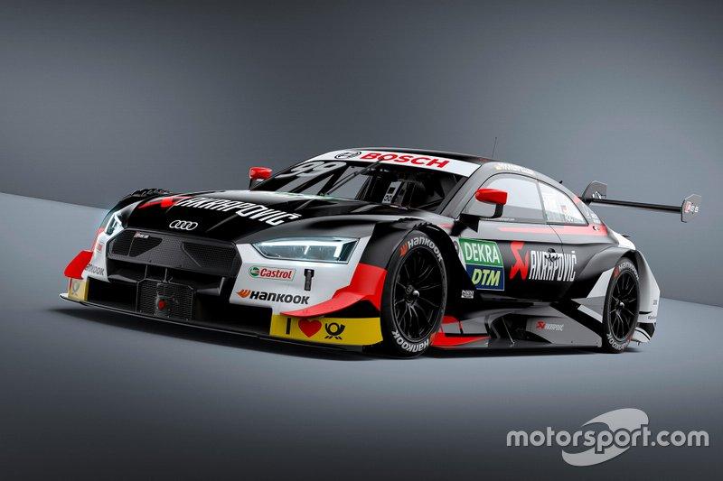 Автомобиль Audi RS5 DTM Майка Рокенфеллера