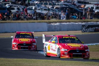 Fabian Coulthard, DJR Team Penske, Scott McLaughlin, DJR Team Penske