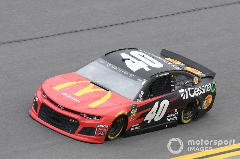 #40: Jamie McMurray, Spire Motorsports, Chevrolet Camaro