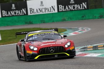 #87 Akka ASP Team Mercedes-AMG GT3: Jean-Luc Beaubelique, Mauro Ricci, Jim Pla