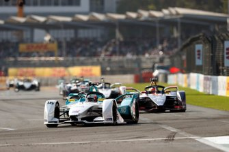 Oliver Turvey, NIO Formula E Team, NIO Sport 004 voor Robin Frijns, Envision Virgin Racing, Audi e-tron FE05