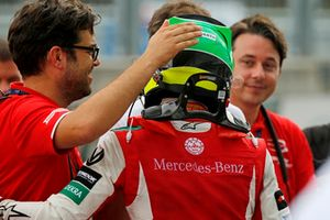 René Rosin, Team Manager, PREMA Theodore Racing, con Mick Schumacher, PREMA Theodore Racing