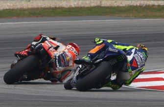 Valentino Rossi, Yamaha Factory Racing, Marc Márquez, Repsol Honda Team