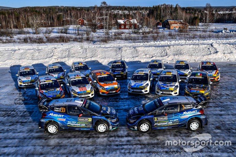 M-Sport Ford Fiesta alineación