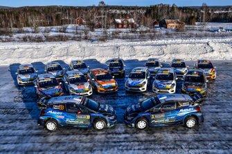 M-Sport Ford Fiesta lineup