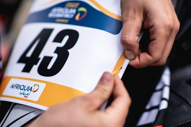 Detalle de la #43 KTM: Margot Llobera Farré