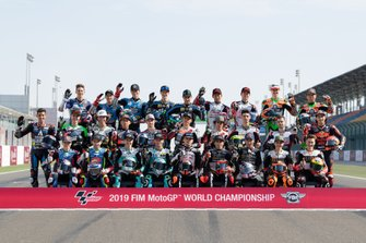 Les pilotes Moto3