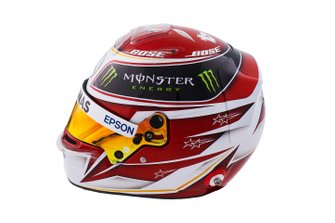 Lewis Hamilton helmet, Mercedes-AMG Petronas