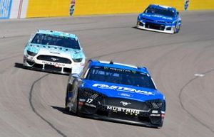 Ricky Stenhouse Jr., Roush Fenway Racing, Ford Mustang Fastenal, Matt Tifft, Front Row Motorsports, Ford Mustang Surface Sunscreen / Tunity