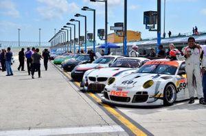 #691 MP1B Porsche GT3 RSR driven by Adan Ramos, George Ramos, & George Hazbun of NGT Motorsports