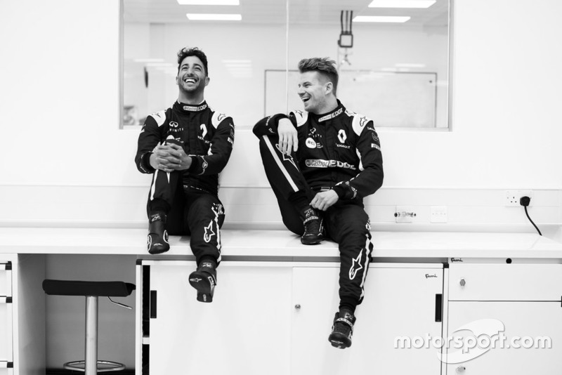 Daniel Ricciardo y Nico Hulkenber, Renault F1