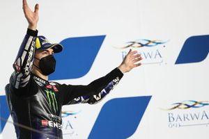Race winner Maverick Vinales, Yamaha Factory Racing