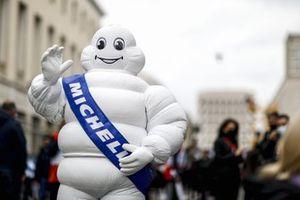 Bibendum, de Michelin Man