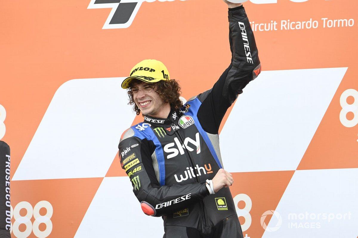 Ganador Marco Bezzecchi, Sky Racing Team VR46