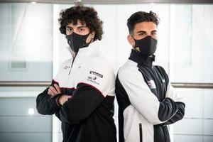 Aldo Festante, Ombra Racing e Stefano Monaco, Dinamic Motorsport con il Porsche Sholarship Programme