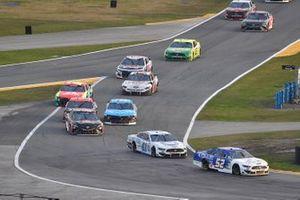 Josh Bilicki, Rick Ware Racing, Ford Mustang and Cole Custer, Stewart-Haas Racing, Ford Mustang Dixie Vodka