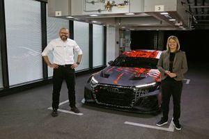 Chris Reinke, Maren Braun with the Audi RS 3 LMS TCR