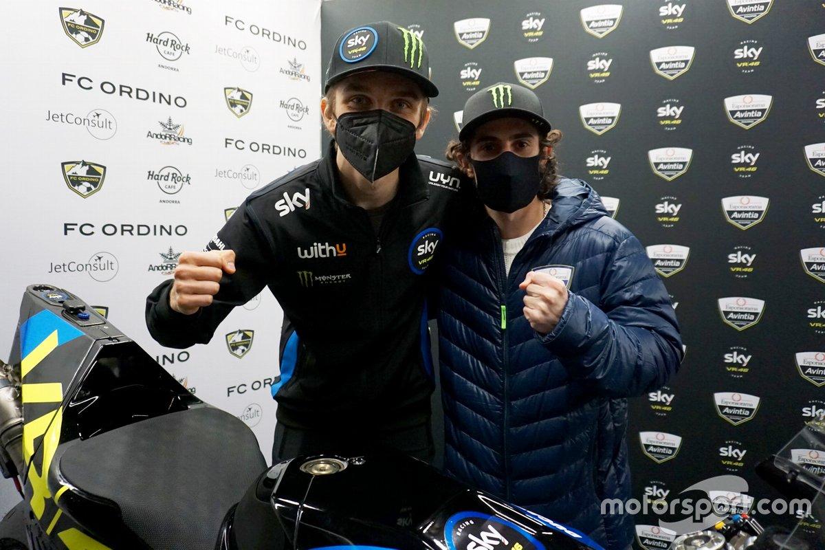 Luca Marini and Enea Bastianini, Esponsorama Racing