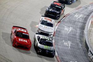Ryan Vargas, JD Motorsports, Chevrolet Camaro TeamJDMotorsports.com, Riley Herbst, Stewart-Haas Racing, Ford Mustang Monster Energy