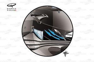 Ferrari SF1000 detail diffuser