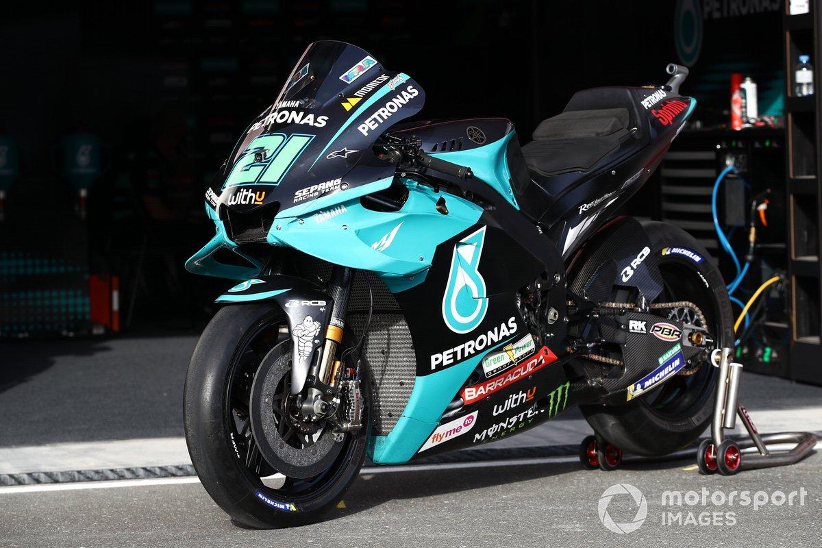 Moto de Franco Morbidelli, Petronas Yamaha SRT