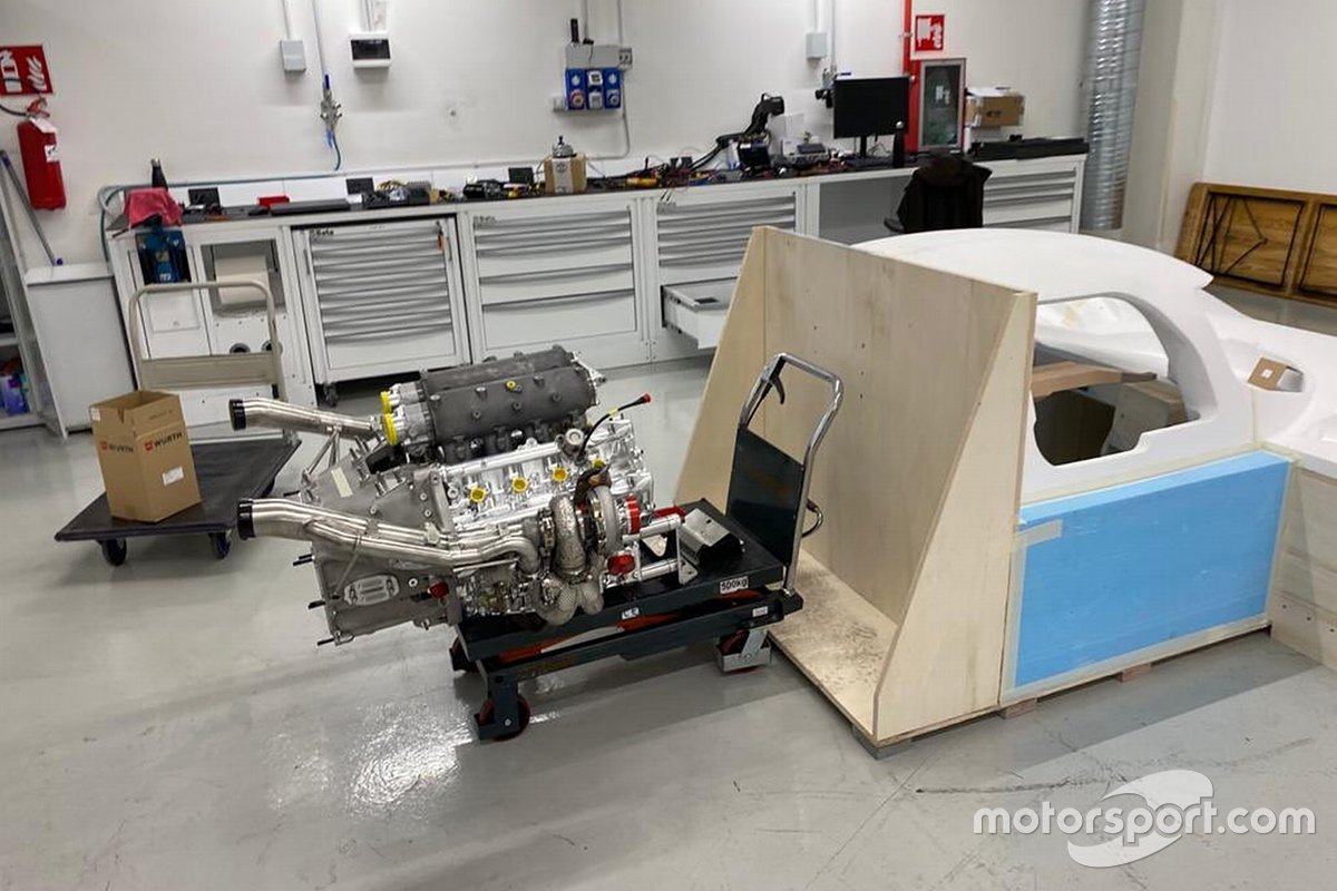 Glickenhaus 007 LMH engine by Pipo Motors