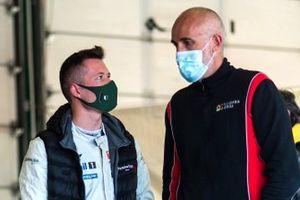 Francesco Maria Fenici, AB Racing, Porsche 911 GT3 Cup e Raimondo Amadio team manager AB Racing e Scuderia Villorba Corse