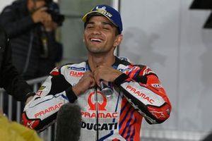 Jorge Martin, Pramac Racing parc ferme