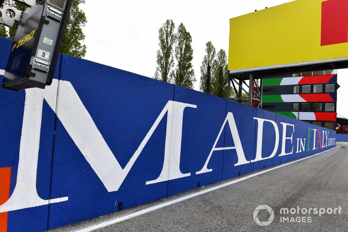Emilia Romagna GP F1 branding