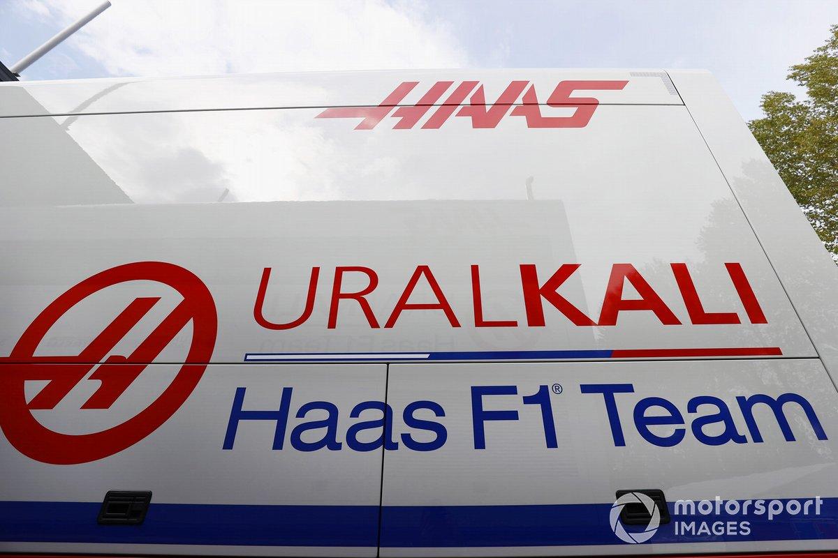 Camión de Haas F1