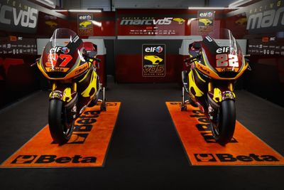 Marc VDS Racing Team livery unveil