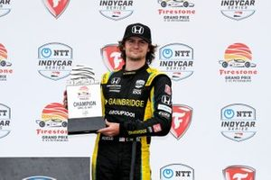 Race winner Colton Herta, Andretti Autosport Honda