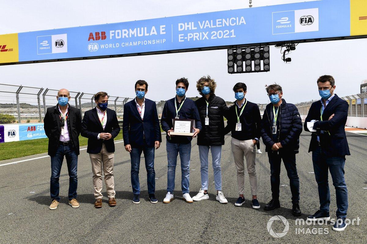 Homenaje a Adrián Campos en el ePrix de Valencia