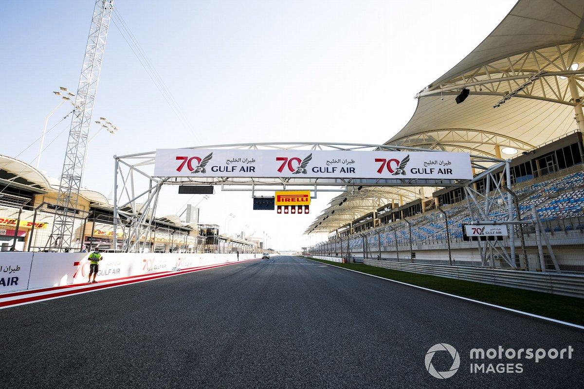 Aspectos del circuito de Bahrein